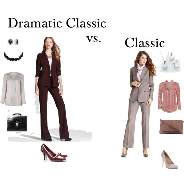 """""""Dramatic Classic vs. Classic"""" by tayachroma on Polyvore"""