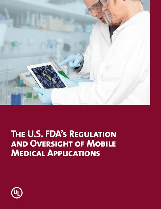 "The U.S. FDA's Regulation and Oversight of Mobile Medical Applications: As smart phones and portable tablet computers become the preferred computing platform for millions of people, developers are creating a growing number of mobile applications (commonly referred to as ""apps"") addressing health, wellness and medical issues."