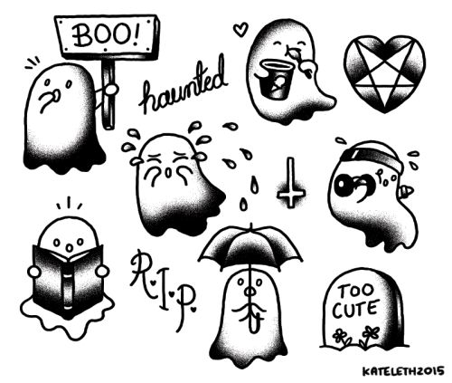 More ghosties for your needs.[I want to get this tattooed! What do I do?]