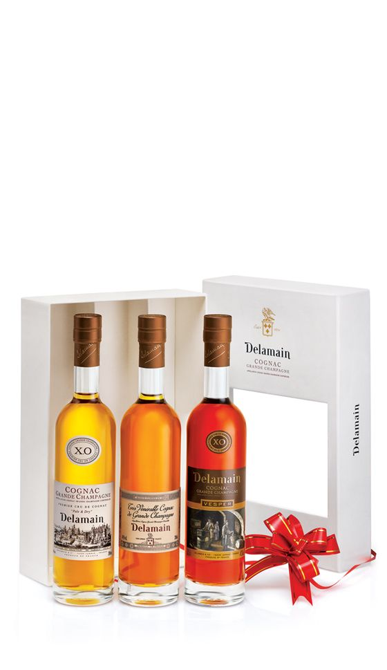 A fantastic way to sample some of the finest cognacs from a Grande #Cognac house, the #Delamain Trio Pack makes an ideal gift for the connoisseur. It contains the Pale & Dry XO, Vesper XO and Tres Venerable cognacs.