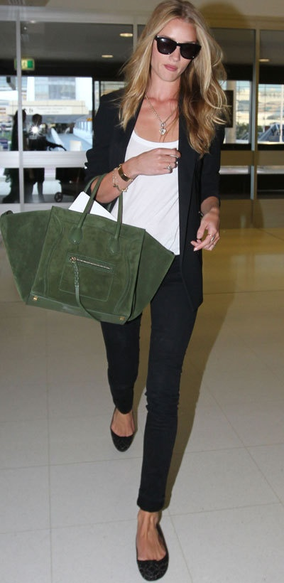 Rosie Huntington-Whiteley w/ Celiné bag