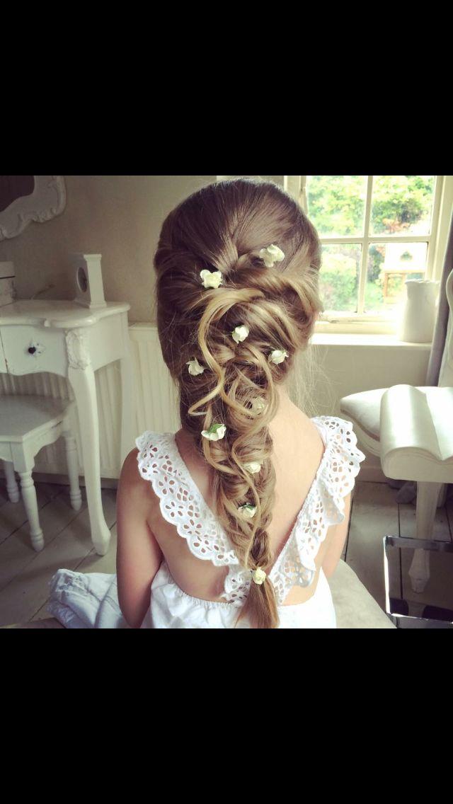 Outstanding 1000 Ideas About Flower Girl Hairstyles On Pinterest Girl Short Hairstyles For Black Women Fulllsitofus
