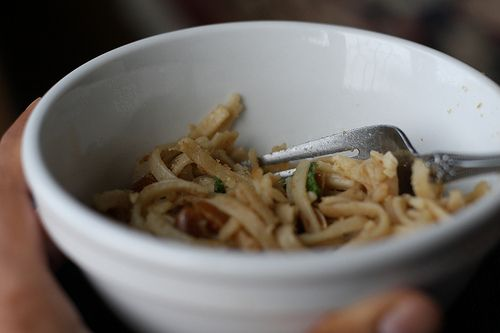 Curried Coconut Chicken & Peanut Butter Noodles