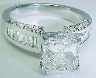 big diamond wedding bands