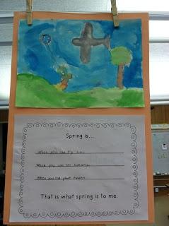Fantastic First Grade Froggies: Spring Is... (a FREEBIE)