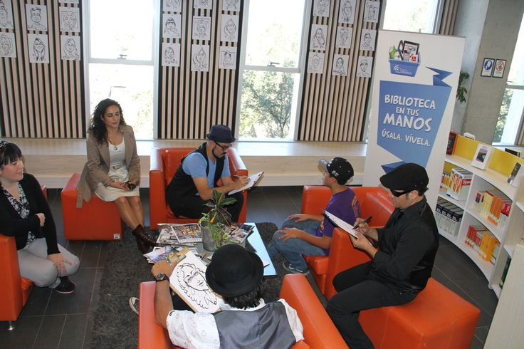 Celebrando el día del libro en #bibliotecaduocsanbernardo