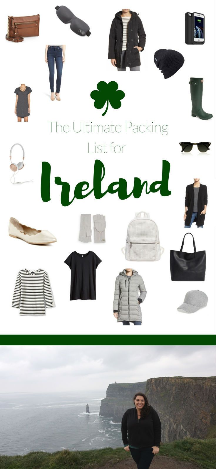 The Ultimate Ireland Packing List! Be prepared for Ireland's unpredictable…