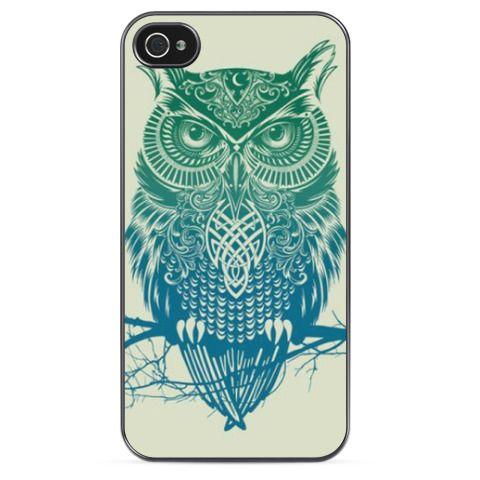 Чехол для iPhone Owl - купить в интернет-магазине Printdirect.ru