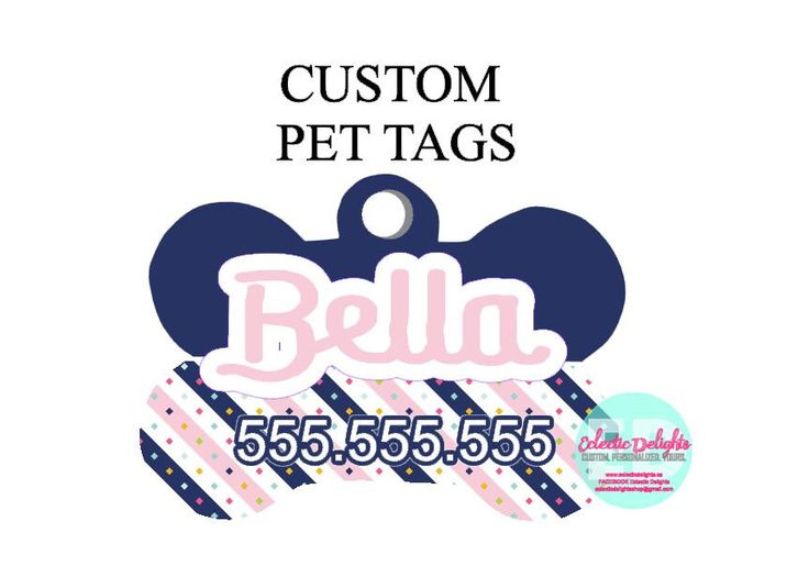 A personal favorite from my Etsy shop https://www.etsy.com/ca/listing/472174357/custom-dog-tag-personalized-pet-tag-pet