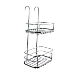 Croydex Rust Free Chrome Plated Metal Shower Croydex Rust Free Chrome Plated Metal Shower Storage Caddy.This rust free shower storage caddy from croydex has 2 compartments to store all your essential toiletries in one place. Its a great space sa http://www.MightGet.com/april-2017-1/croydex-rust-free-chrome-plated-metal-shower.asp