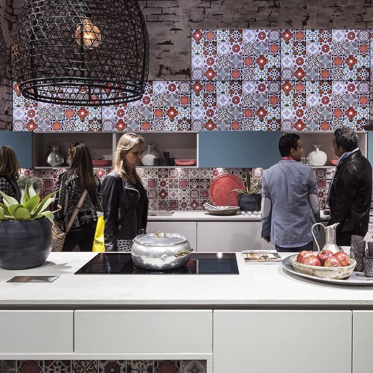 The most social room of the house is on scene at #EuroCucina, the biennial of #SaloneDelMobile #Milano that comes only during even years