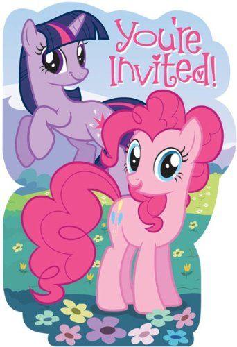 Pony Party Invitation with perfect invitation ideas