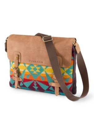 new school bag! #pendelton messenger bag