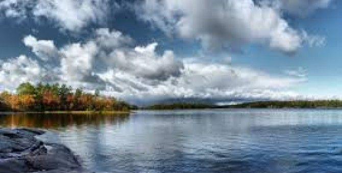 Lake water ripple
