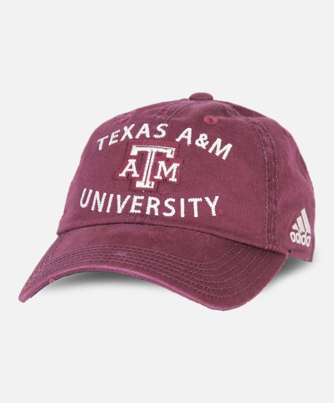 2016 Texas A&M University Cap by Adidas #AggieGifts #Aggiestyle