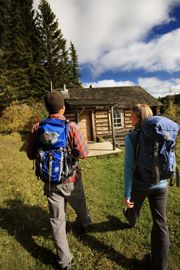 Hike the route to Grey Owl's Cabin in Prince Albert National Park, #Saskatchewan