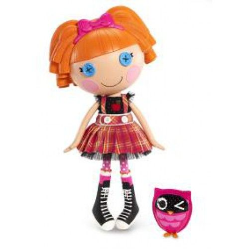 The Lalaloopsy are rag dolls that magically came to life, taking on the personalities of the fabrics that were used to make them. They live in a colorful, silly world, and it's your job to keep the magic of their world alive.