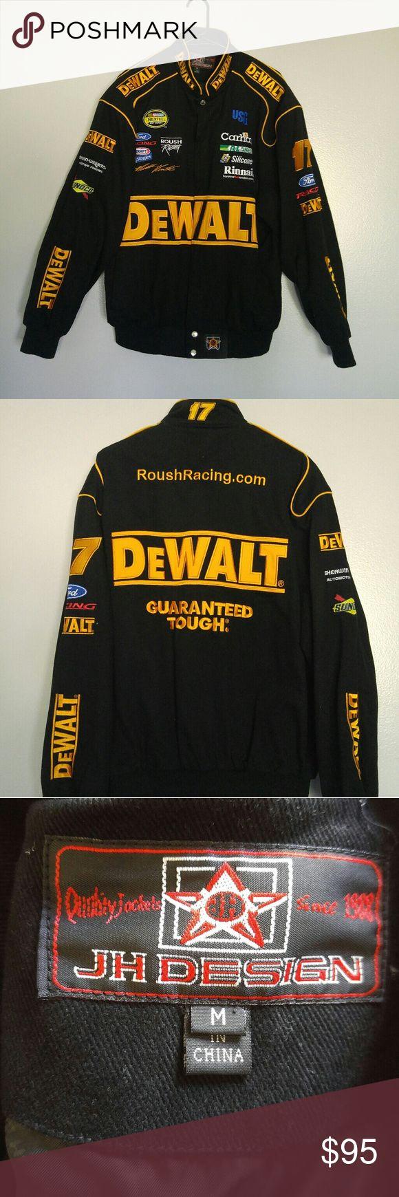 Nascar DeWalt Jacket Never worn Nascar jacket. In great condition. Jackets & Coats Performance Jackets