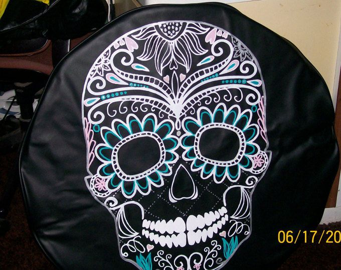 I will paint anything on a spare tire cover. I use an outdoor paint which will hold up to all kinds of weather. I supply the cover. When placing your order, please make sure you include the numbers off the sidewall of your tire so that I can make sure I get the correct size. **** due to problems in the past, I will refuse any order that is not complete... including the numbers on the sidewall of your spare tire. This should be in this format :  xxx/xxRxx ie: 225/70R16***  *** Please...