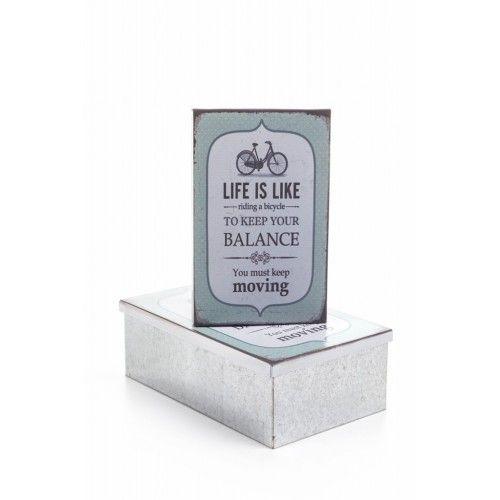 Decotown Balance 2li Metal Kutu