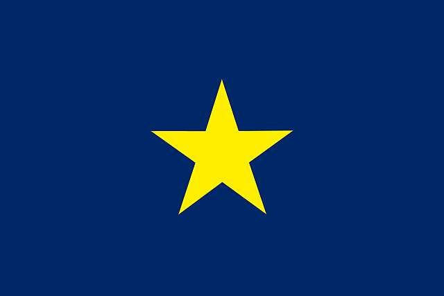 Texas Republic Nation In North America Republic Of Texas Flag Battle Flag