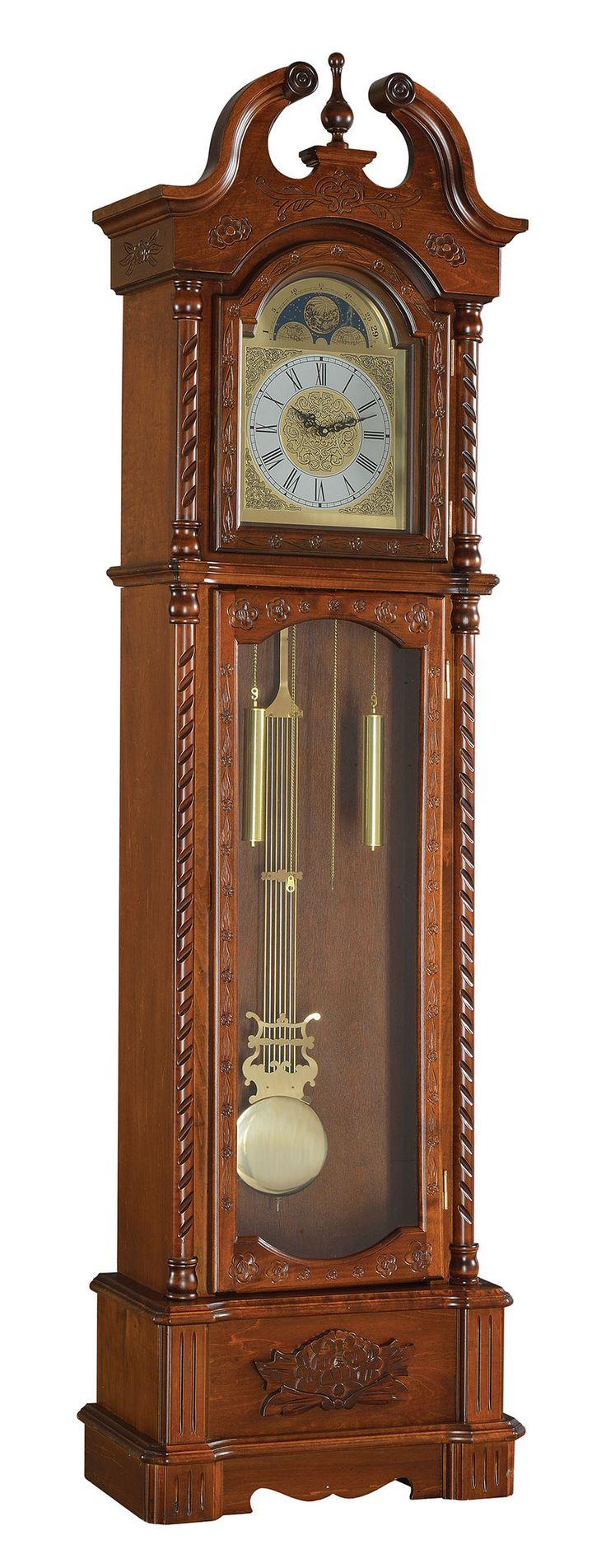 Dark Oak Grandfather Clock - 97085