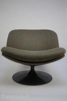 Artifort stoel van Geoffrey Harcourt
