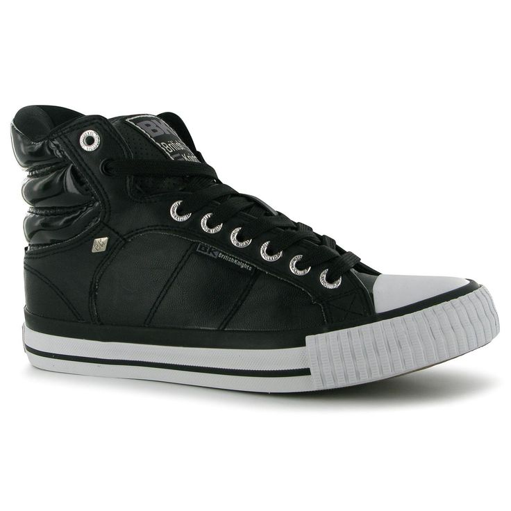 British Knights Atoll Mid Cuff Ladies High Top Trainers (234007-23400703)