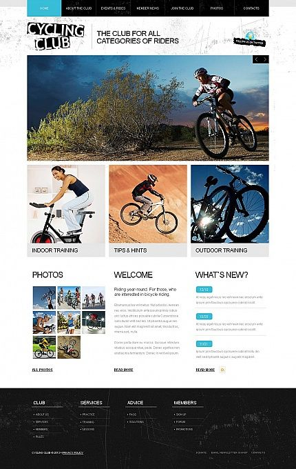 15 best Motorcycle WordPress Themes & Templates images on Pinterest ...