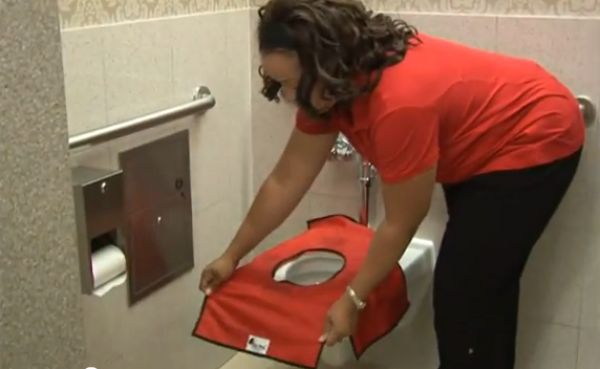1000 Images About Portable Toilet Seat Covers On