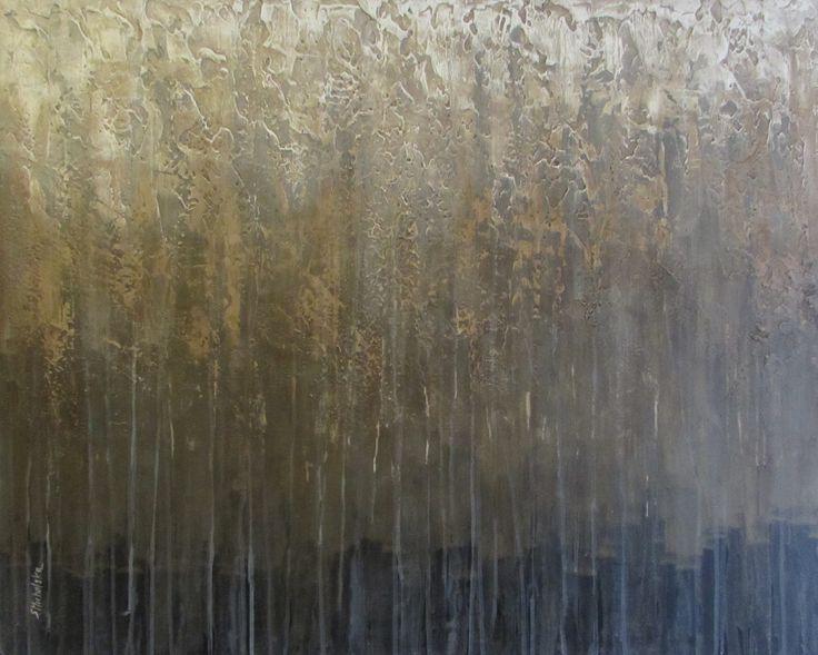 abstrakcja w brązach, złoto, obrazy na zamówienie, abstract, brown