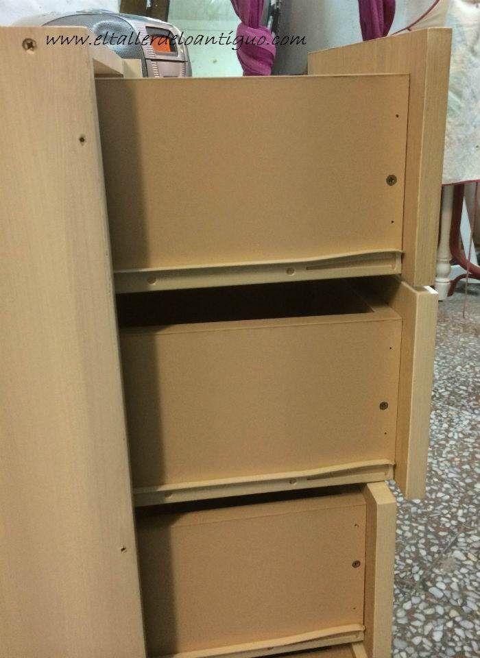Mais de 25 ideias nicas de como pintar muebles no - Pintar muebles antiguos sin lijar ...