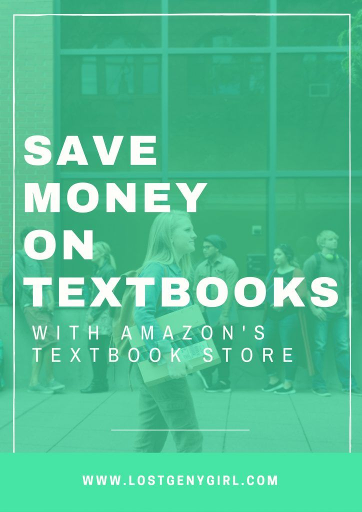Save Money On Textbooks With Amazon's Textbook Store #primestudent #CLVR
