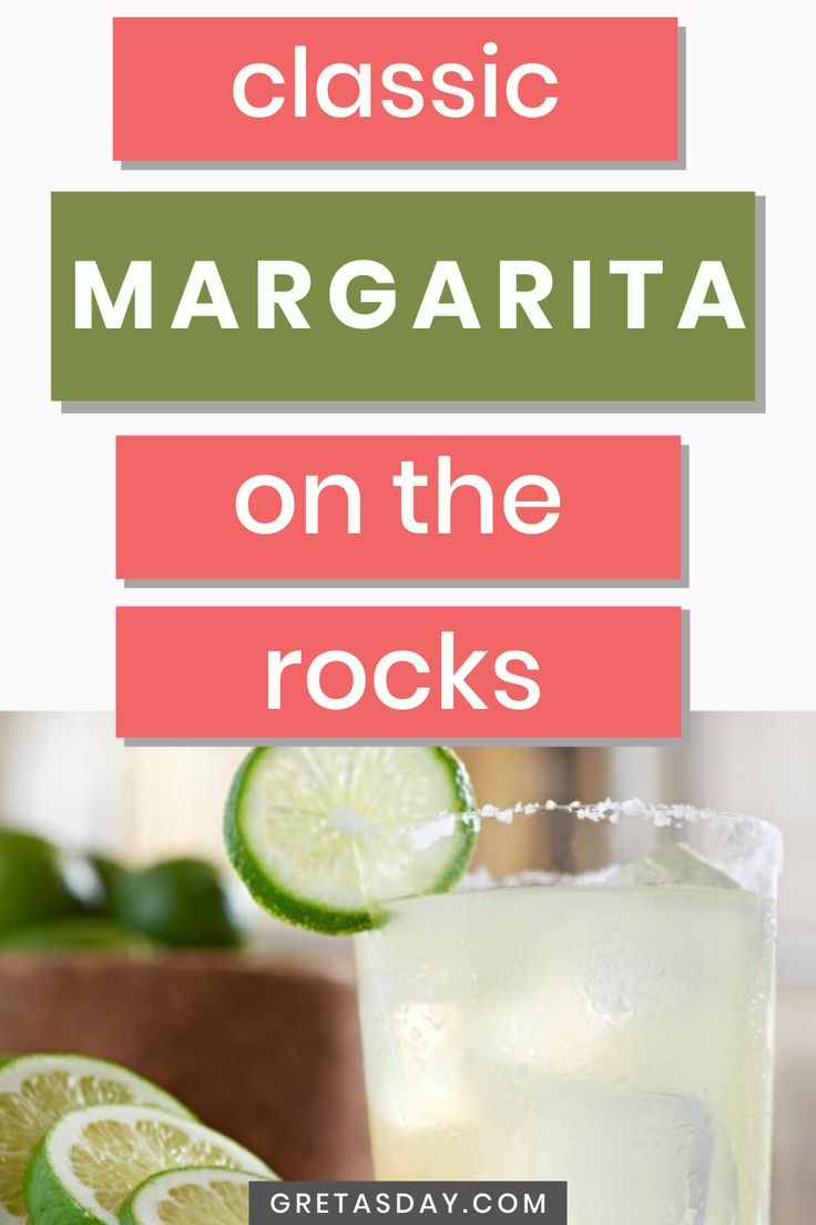 How to make a classic margarita on the rocks in 2020