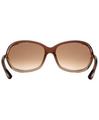 Tom Ford Jennifer Sunglasses, FT0008 - Brown