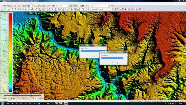Vue Xstream tutorial - exportar terreno desde google earth
