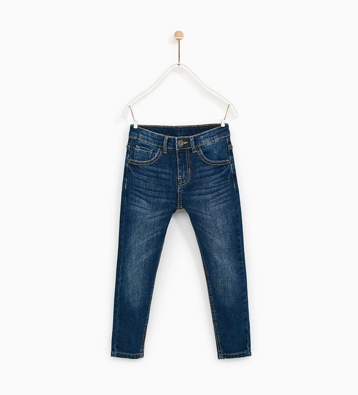 Image 1 of BASIC REGULAR JEANS from Zara