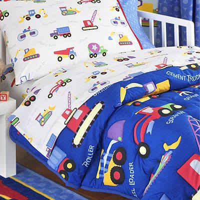 construction toddler bedding sets 2