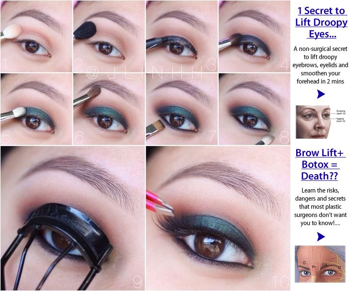 Eye Makeup For Droopy Lids Cosmeticstutor