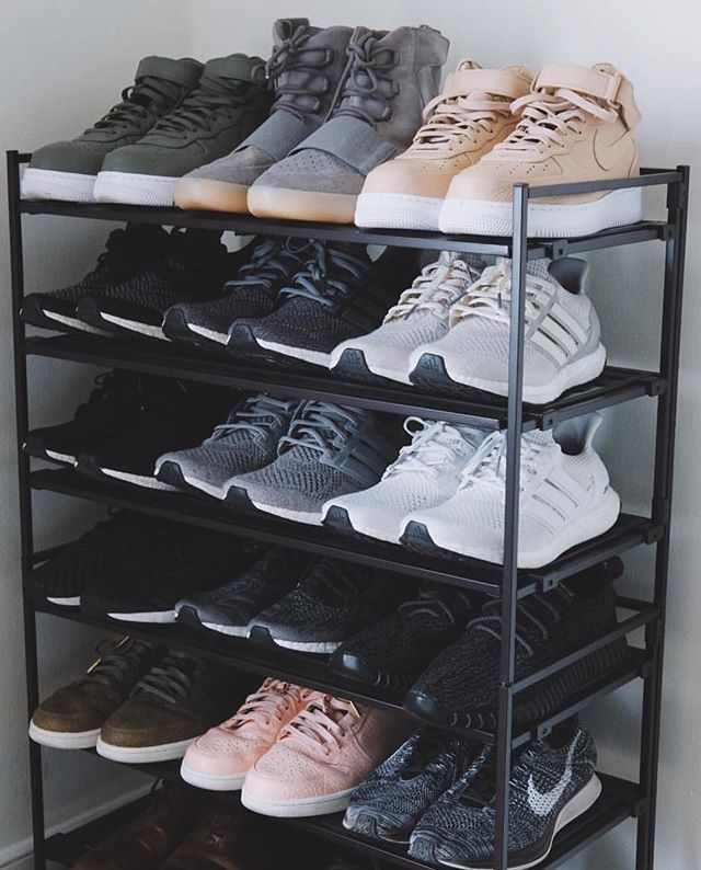Sneaker Rack || Follow @filetlondon for more street style #filetclothing