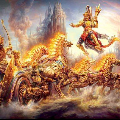 relationship between dhritarashtra and gandhari