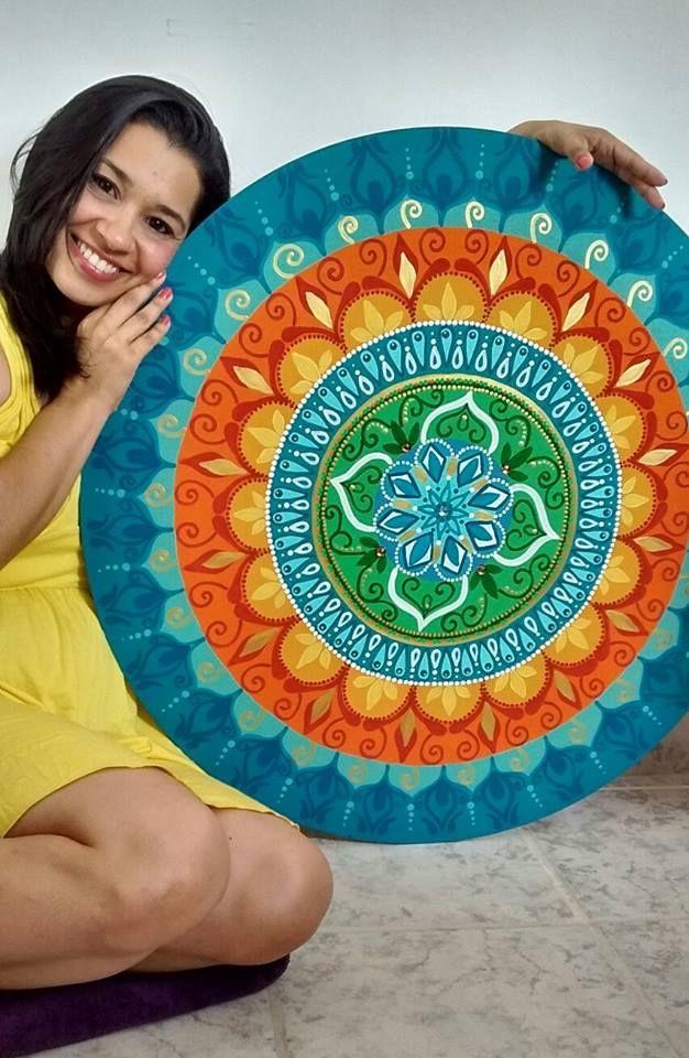 MDF, Acrilica, 80cm. Arte de Rosangela Bavaresco.