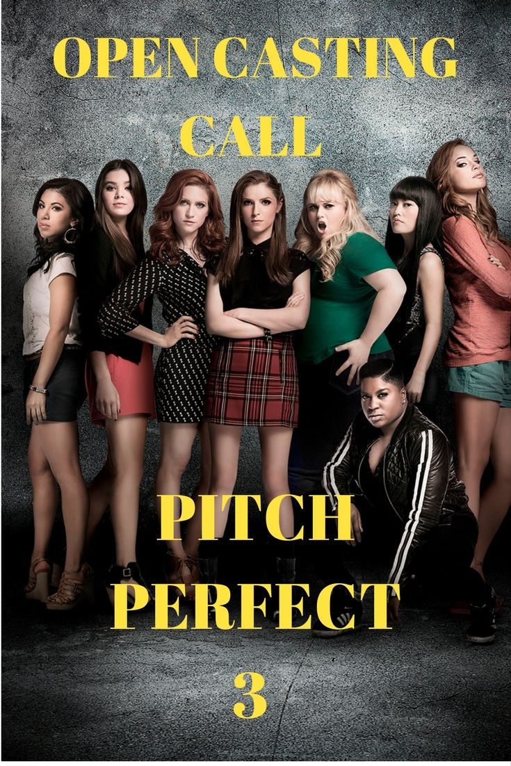 Casting calls have been announced for the 3rd installment of the Universal Pictures sing-a-long comedy, Pitch Perfect 3.