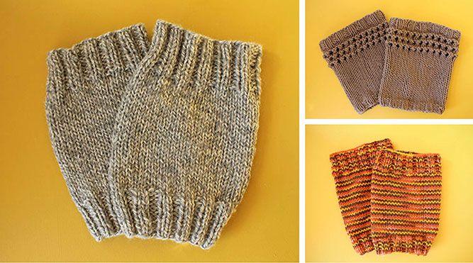 TUTORIAL: Knit Boot Topper Pattern