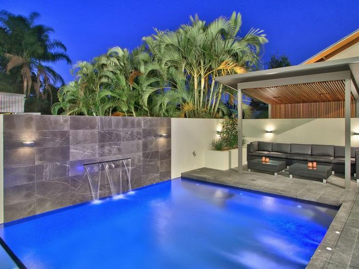 171 best images about pools on pinterest swimming pool - Swimming pool water feature ideas ...