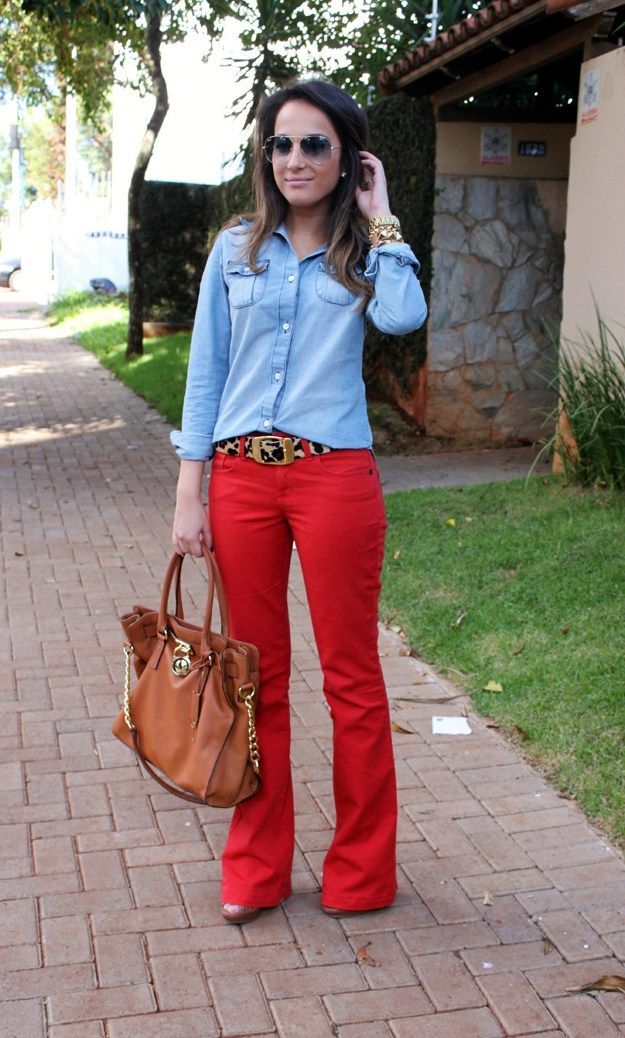 CHEIA DE FRESCURA: Meu Look: Red Flare