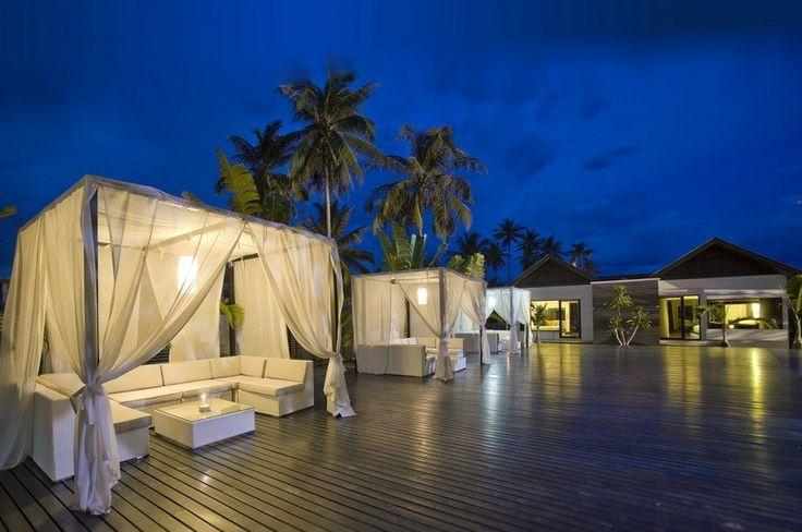 Evening at Aava Resort & Spa, Khanom, Thailand