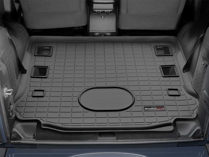 2015 Jeep Wrangler Cargo Mat And Trunk Liner For Cars Suvs And Minivans Weathertech Jeep 2015 Jeep Wrangler Jeep Wrangler