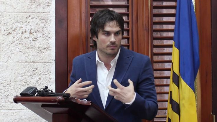 Ian Somerhalder deliver his speech in Barbados as he is designated UNEP Goodwill Ambassador on World Environment Day. For more information http://www.unep.org/wed/ or http://www.unep.org/wed/ http://vimeo.com/97582380