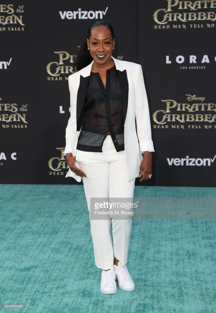 Actor Tichina Arnold attends the premiere of Disney's 'Pirates Of The Caribbean: Dead Men Tell No Tales' at Dolby Theatre on May 18, 2017 in Hollywood, California.